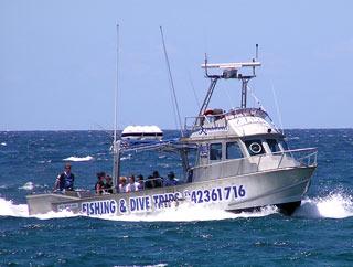 Kiama Fishing Charter boat
