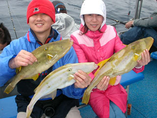 Leather Jackets fishing charter catch